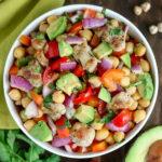Chicken Chickpea Salad - Karyl's Kulinary Krusade