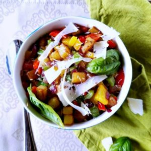 Potato Hash with Bell Peppers & Onions