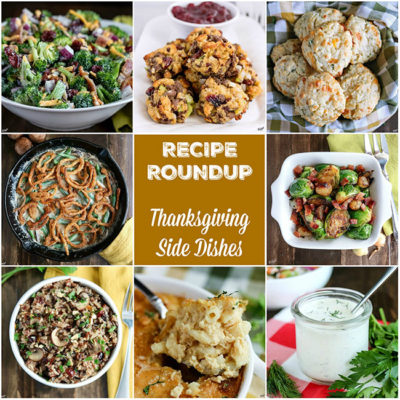 Recipe Roundup: Thanksgiving Side Dishes