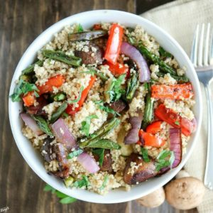 Roasted Vegetable Couscous - Karyl's Kulinary Krusade