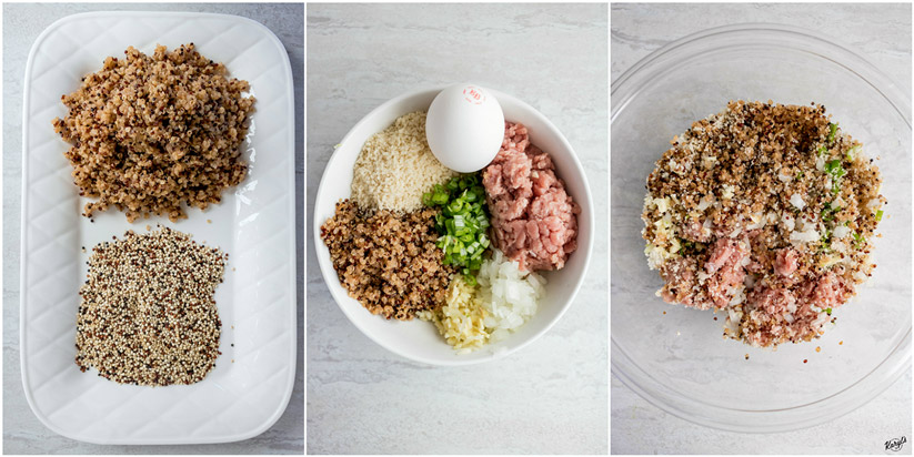 Asian Quinoa Meatballs - Karyl's Kulinary Krusade