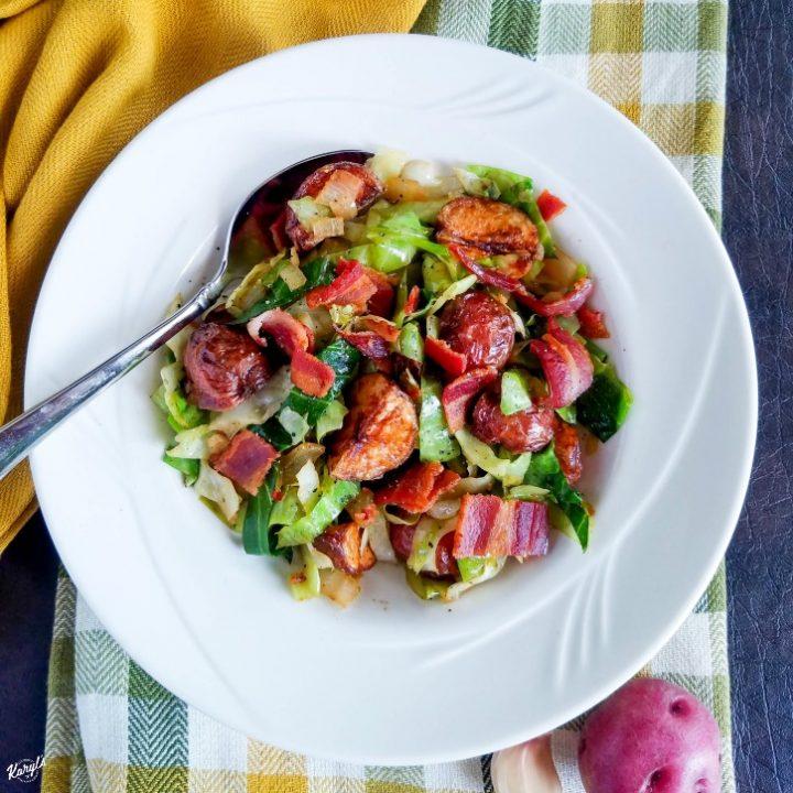 Cabbage, Bacon and Potatoes - Karyl's Kulinary Krusade