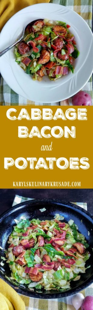 Cabbage, Bacon and Potatoes - Karyl's Kulinary Krusade