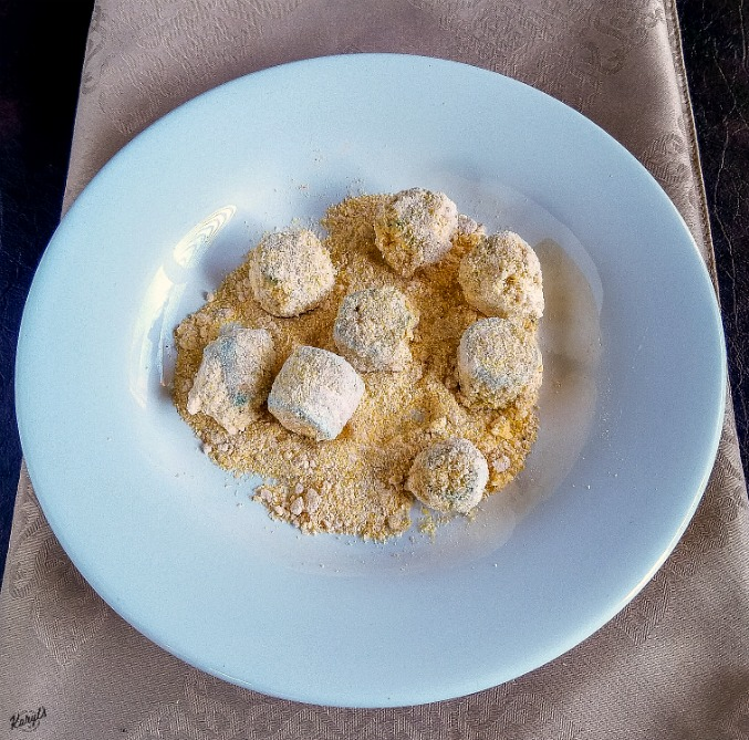 Fried Okra Salad - Karyl's Kulinary Krusade