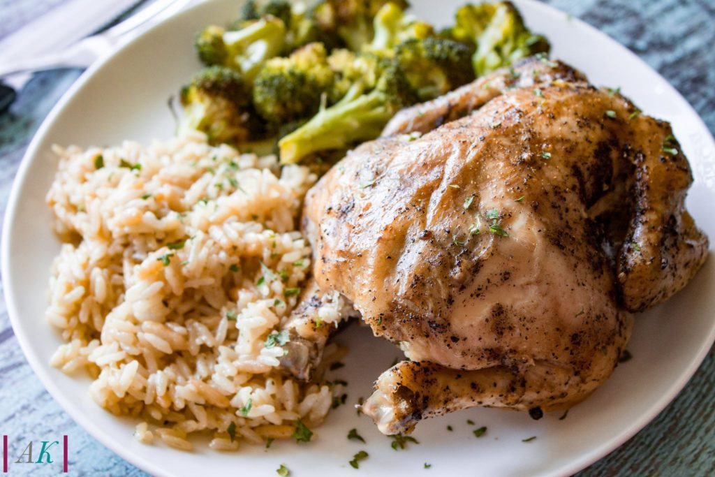 Slow Cooker Roasted Game Hen by Almost Kosher