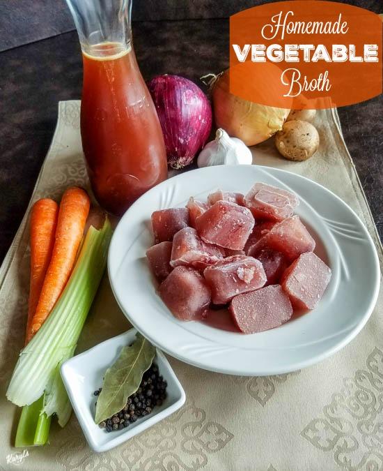 Homemade Vegetable Broth - Karyl's Kulinary Krusade