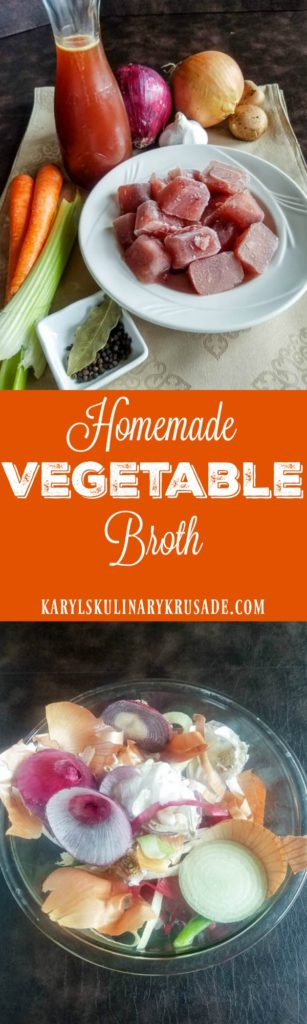 Homemade Vegetable Broth - Karyl's Kulinary Krusade
