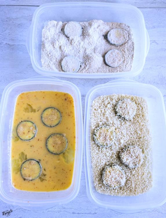 Panko Parmesan Zucchini Chips - Karyl's Kulinary Krusade