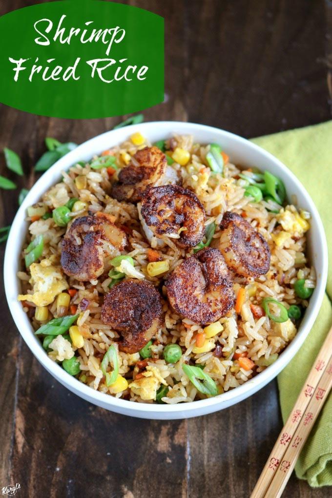 Shrimp Fried Rice - Karyl's Kulinary Krusade