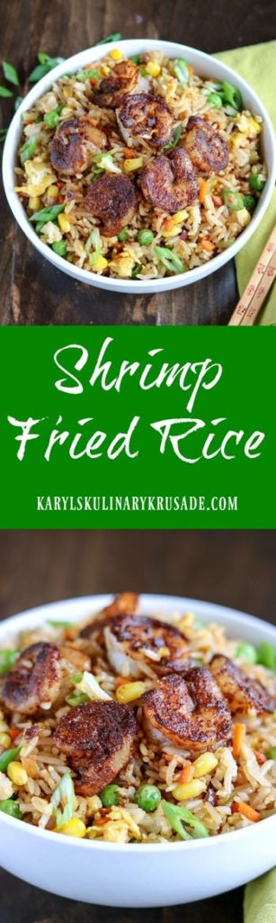 Shrimp Fried Rice - Karyl's Kulinary Krusade