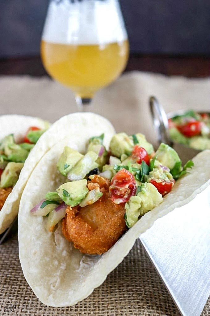 Beer battered fish tacos by karyl 39 s kulinary krusade for Beer battered fish tacos recipe