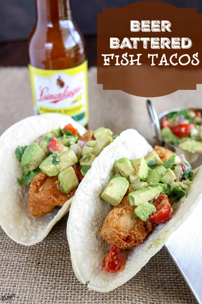 Beer Battered Fish Tacos - Karyl's Kulinary Krusade