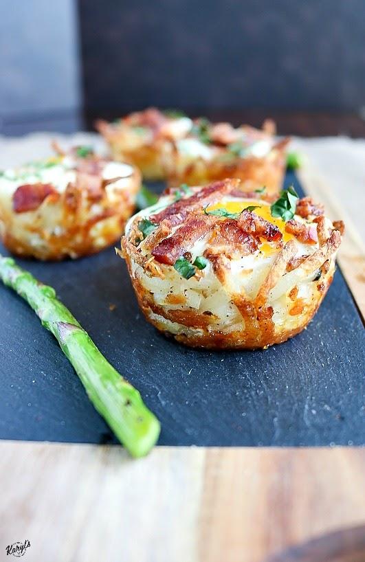 Hash Brown Egg Nests - Karyl's Kulinary Krusade