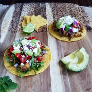 Pork and Pineapple Tostadas