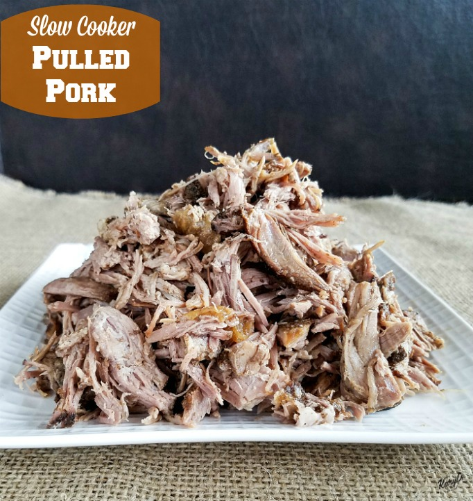 Slow Cooker Pulled Pork - Karyl's Kulinary Krusade