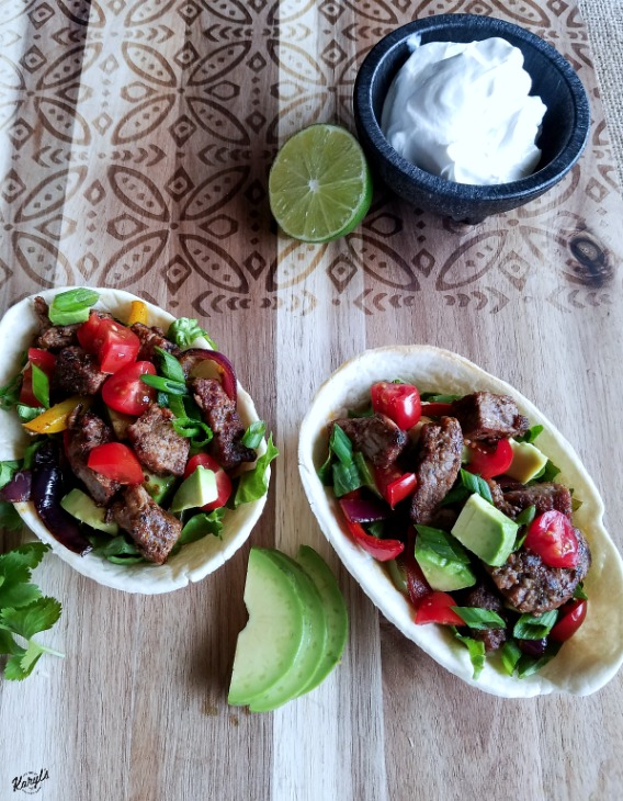 Steak Fajitas Three Ways - Karyl's Kulinary Krusade