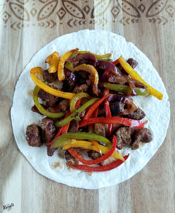 Steak Fajitas Three Ways by Karyl's Kulinary Krusade