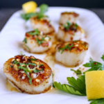 Garlic Lemon Butter Scallops - Karyl's Kulinary Krusade