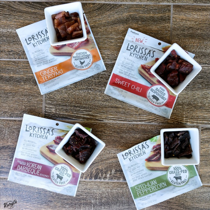 Lorissa's Kitchen Meat Snacks + Sweepstakes!
