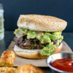 Venison Cheeseburger with Guacamole and Jalapeno - Karyl's Kulinary Krusade
