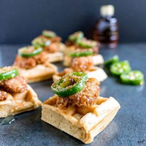 Chicken and Waffle Bites - Karyl's Kulinary Krusade