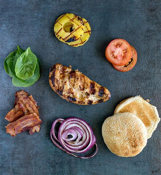 Citrus Marinated Grilled Chicken Sandwich - Karyl's Kulinary Krusade