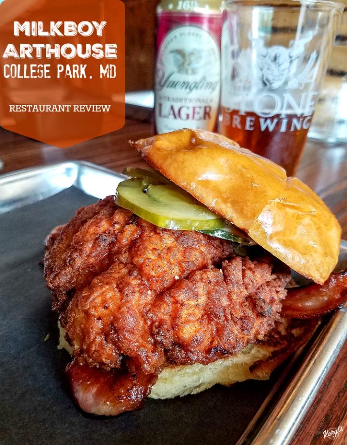 MilkBoy ArtHouse, College Park MD - Karyl's Kulinary Krusade