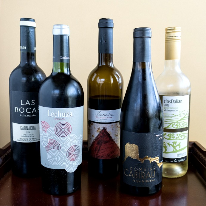 Wines of Garnacha/Grenache and Grilled Lamb Loin Chops