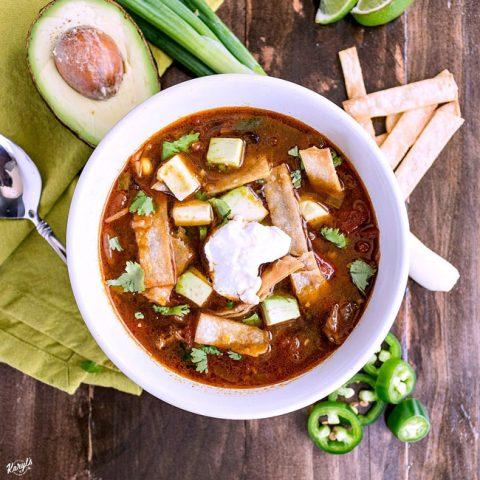 Chicken Tortilla Soup - Karyl's Kulinary Krusade