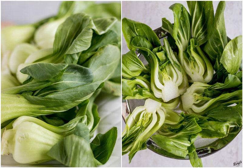 Ginger Garlic Baby Bok Choy - Karyl's Kulinary Krusade