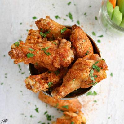 Old Bay Chicken Wings - Karyl's Kulinary Krusade