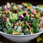 Broccoli Salad with Homemade Dressing