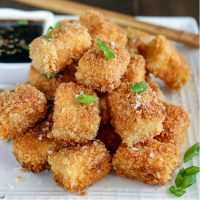 Crispy Pan Fried Tofu