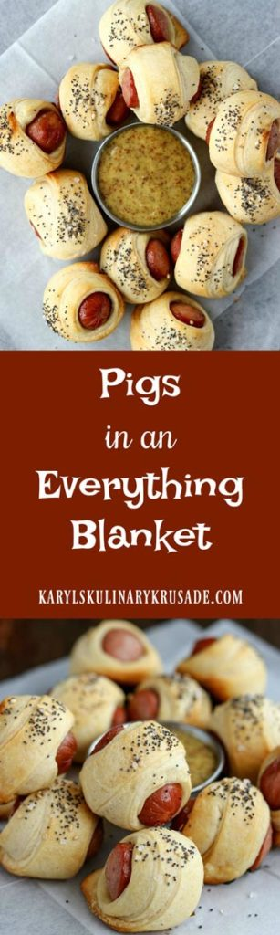 Pigs in an Everything Blanket - Karyl's Kulinary Krusade