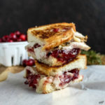 Roasted Turkey Cranberry Grilled Cheese - Karyl's Kulinary Krusade