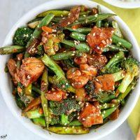 Spicy Chicken Vegetable Stir Fry