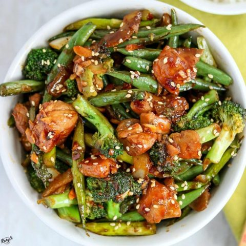 Spicy Chicken Vegetable Stir Fry - Karyl's Kulinary Krusade