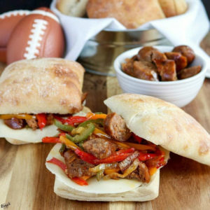 Italian Sausage and Bell Pepper Sandwiches - Karyl's Kulinary Krusade