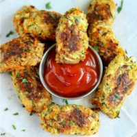 Baked Zucchini Carrot Tots