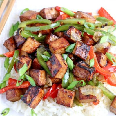 Tofu Bell Pepper Stir Fry