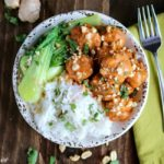 Red Curry Chicken Meatball Bowl - Karyl's Kulinary Krusade