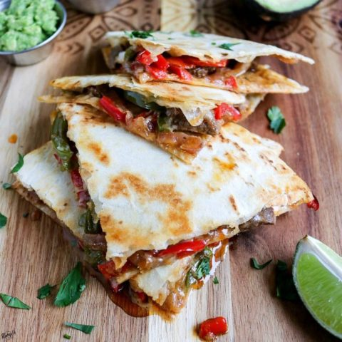 Steak Fajita Quesadillas - Karyl's Kulinary Krusade