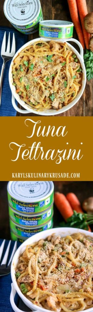 Tuna Tettrazini - Karyl's Kulinary Krusade