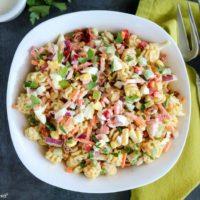 Funfetti Macaroni Salad