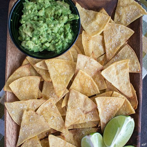 Baked Tortilla Chips - Karyl's Kulinary Krusade