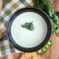 Chuy's Creamy Jalapeno Dip