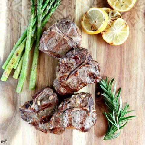 Grilled Lamb Loin Chops - Karyl's Kulinary Krusade