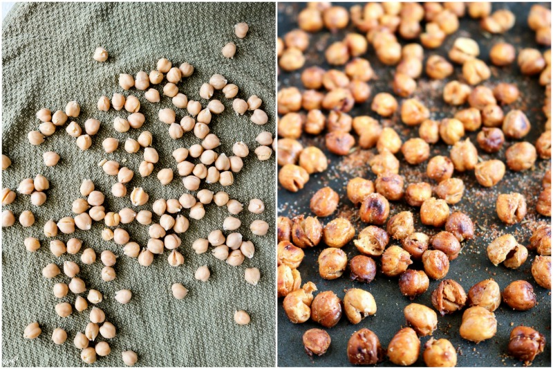 Spicy Roasted Chickpeas - Karyl's Kulinary Krusade