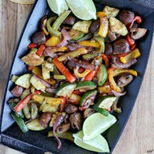 Grilled Vegetable Fajitas - Karyl's Kulinary Krusade