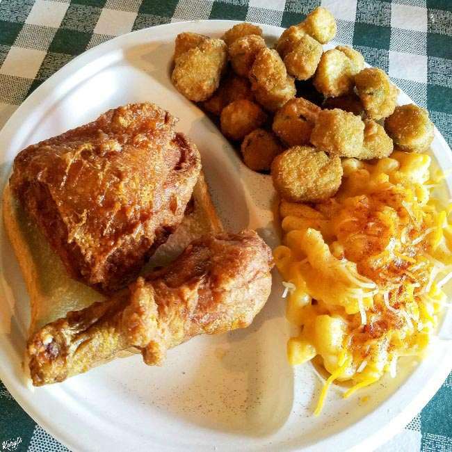 Gus's World Famous Fried Chicken - Karyl's Kulinary Krusade